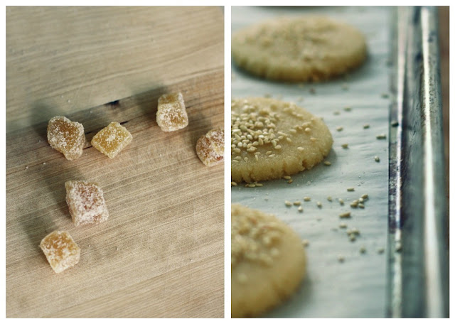 how to make crystallized ginger with little sugar