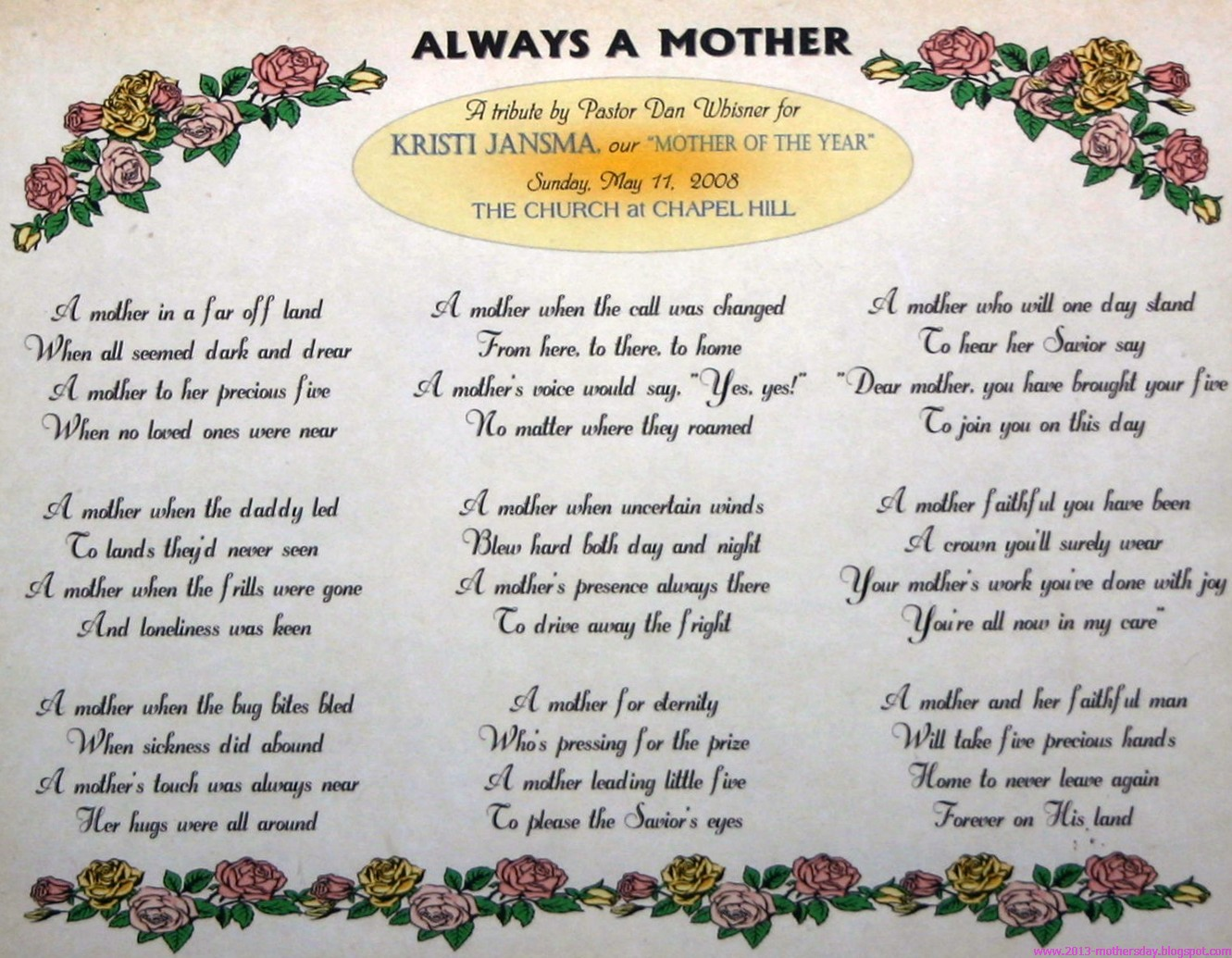 Wallpaper free download happy mother 39 s day poems for Short poems for daughters from mothers