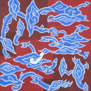 Batik Mega Mendung Design