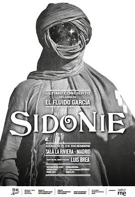 Sidonie La Riviera Madrid (último concierto de la gira 2012)
