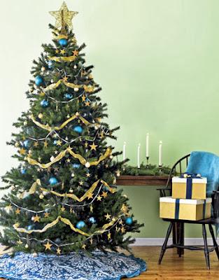 Desain Pohon Natal Indah