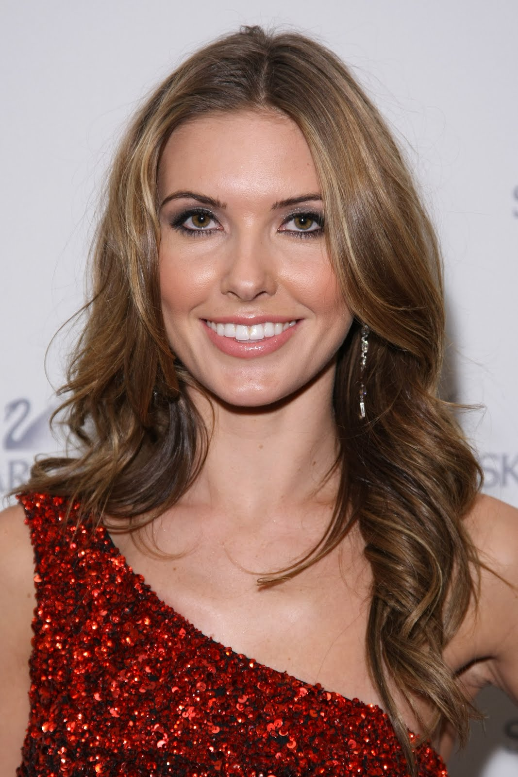 Audrina Patridge At The Heart Truth Fashion Show Mbfw 2011