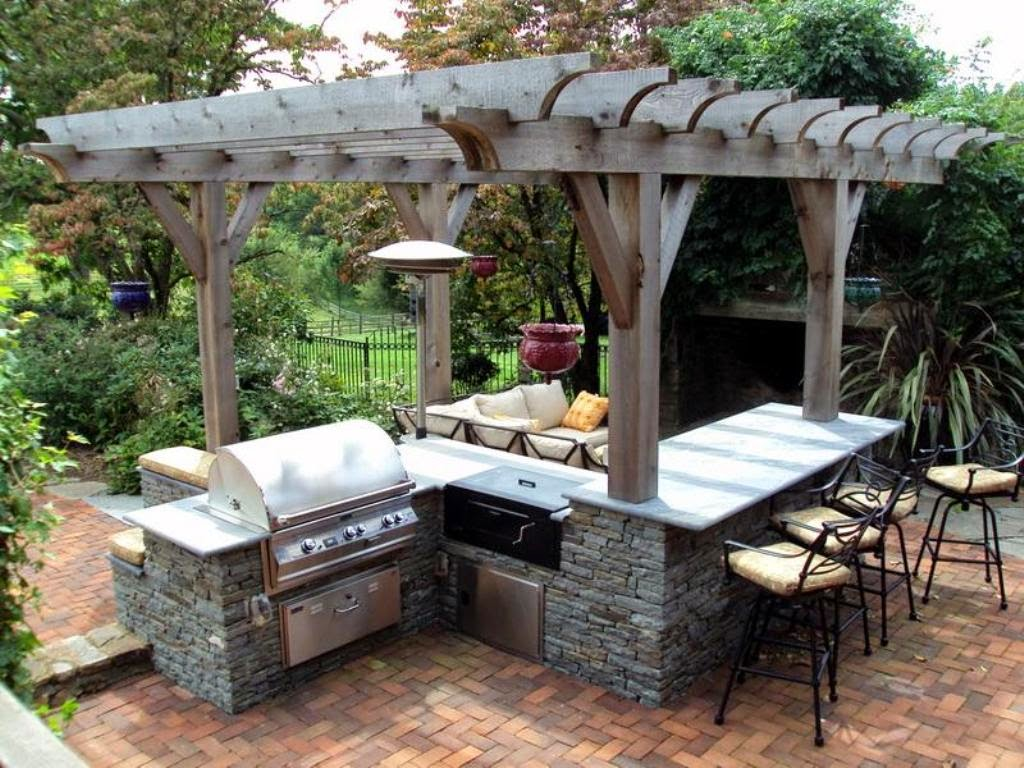 Simple Outdoor Kitchen Design Ideas Picture 11