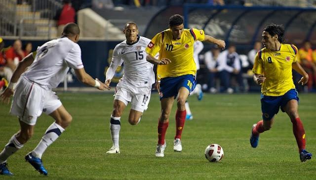 Estados Unidos vs Colombia en vivo