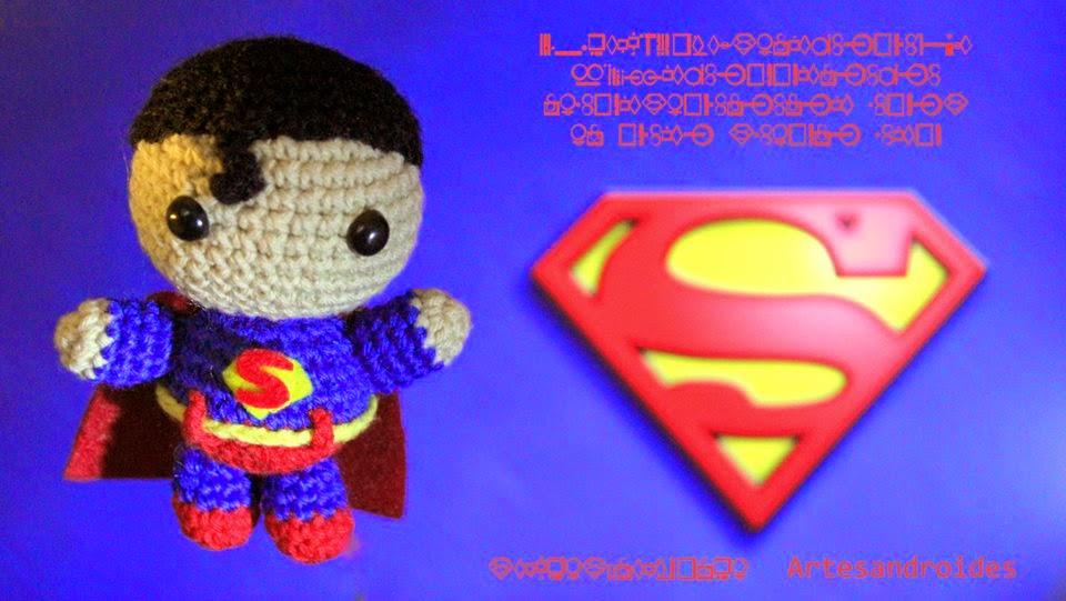 ArtesanDroides: Amigurumi Superman