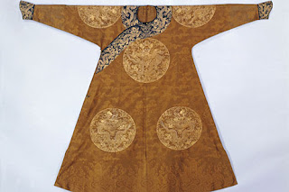 Chinese silk robe wanted Boston collection