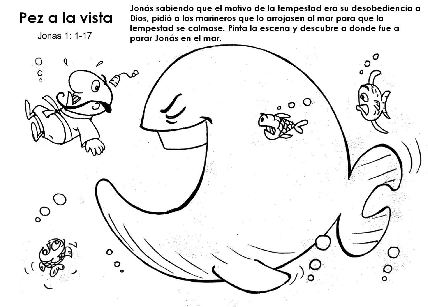 BUENAS NOTICIAS PARA LOS NIÑOS: ACTIVIDADES JONÁS