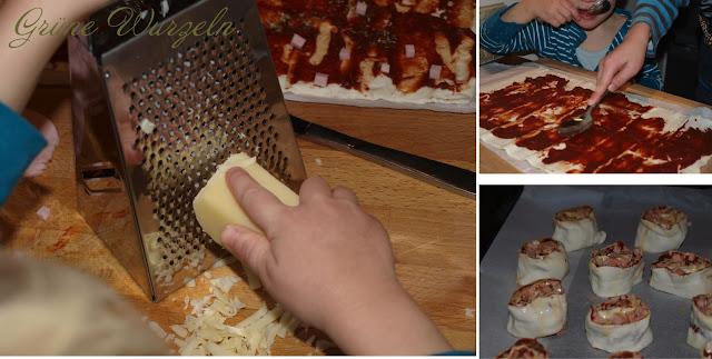 pizzaschnecken blätterteigschnecken