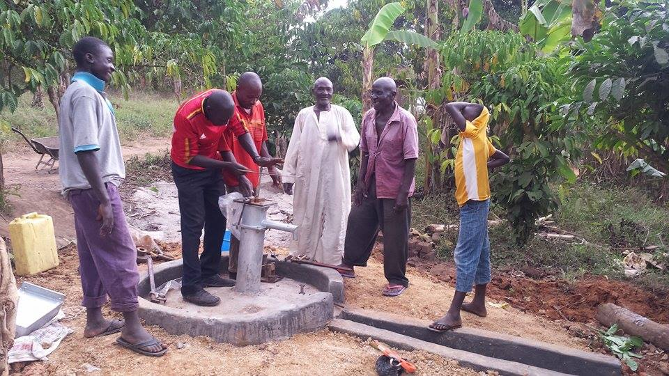 The opening of the 3rd Bore Hole