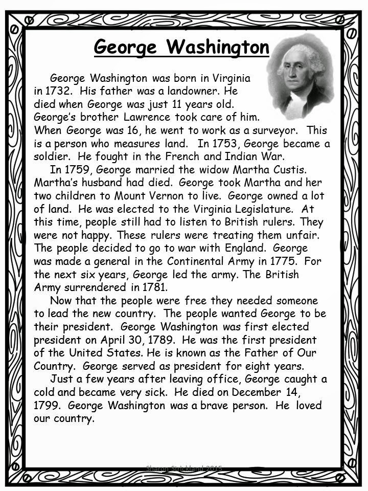 George Washington Reading Comprehension - descargardropbox