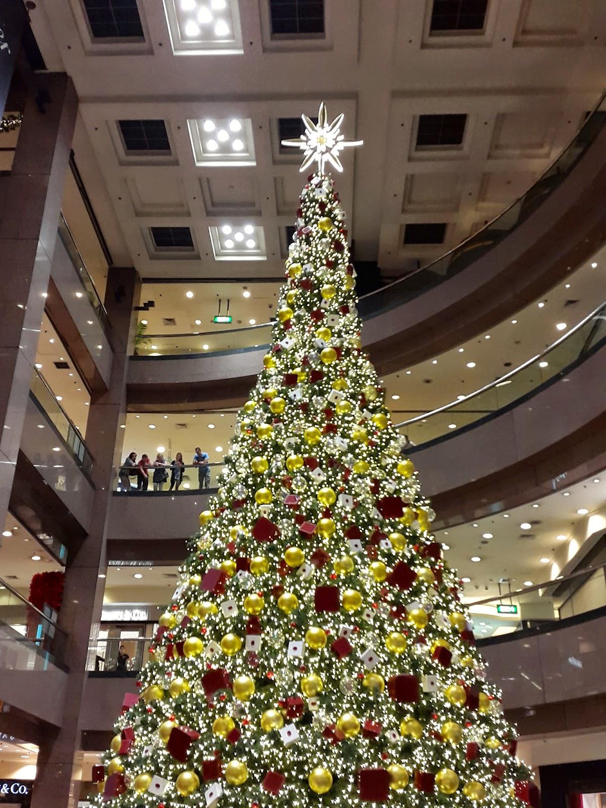Ngee Ann City Christmas Tree Singapore