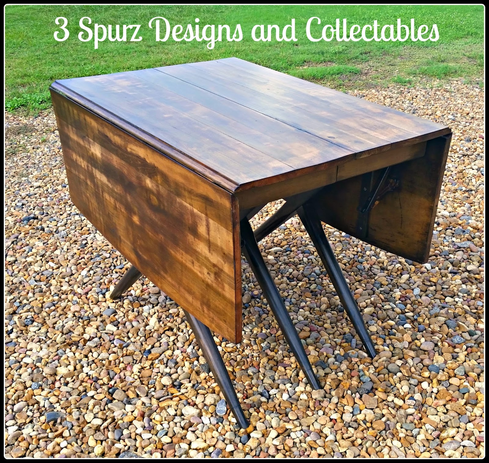 3 Spurz DandC Repurposed Refurbished Creations Table Time