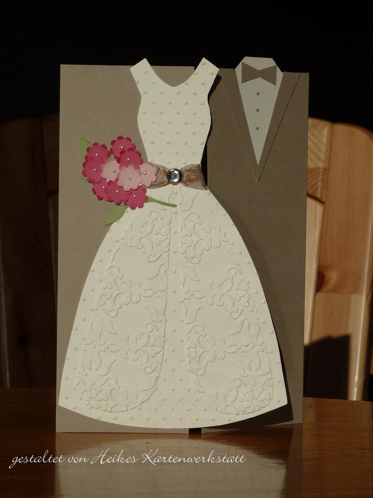 Heikes Kartenwerkstatt Hochzeitsgrusse