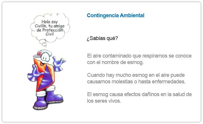 CONTINGENCIA AMBIENTAL
