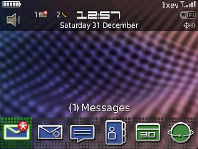 P9981 Theme fo Blackberry OS 5&6