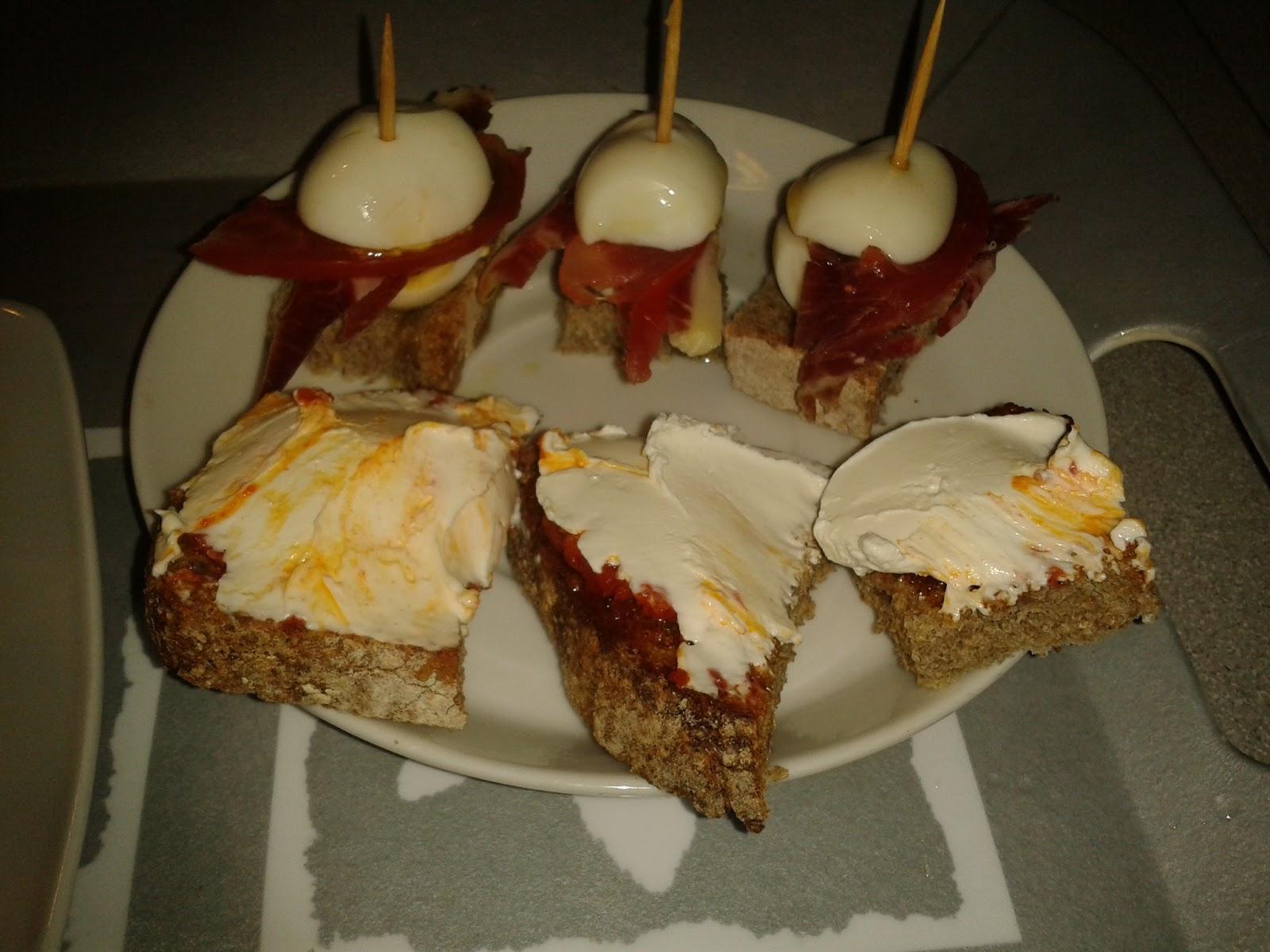 Cocina y viaje con carmen tapa de huevos de codorniz y - Cocina con carmen ...