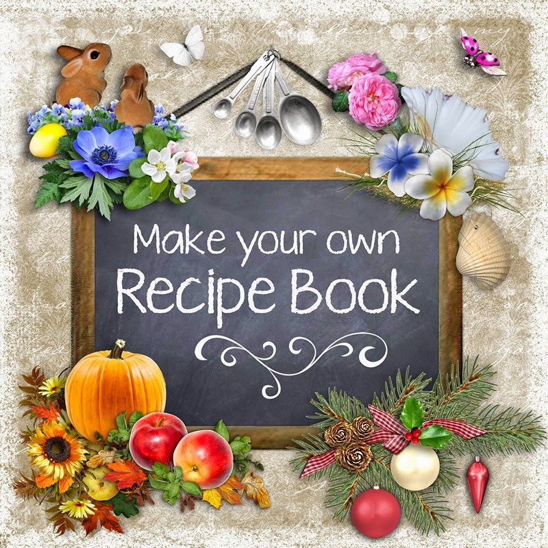 How To Make A Recipe Book Cover : Cheyokota digital scraps coming soon make your own