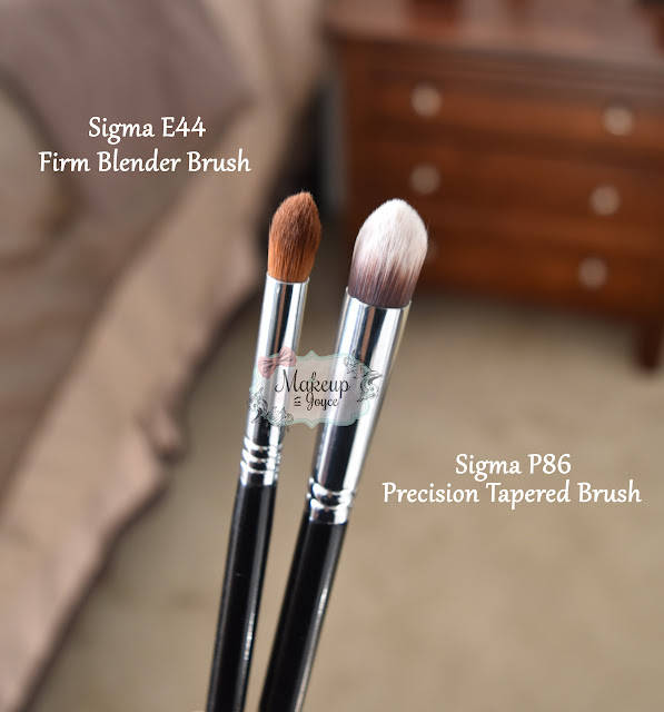 Sigma E44 vs P86 Brush Review