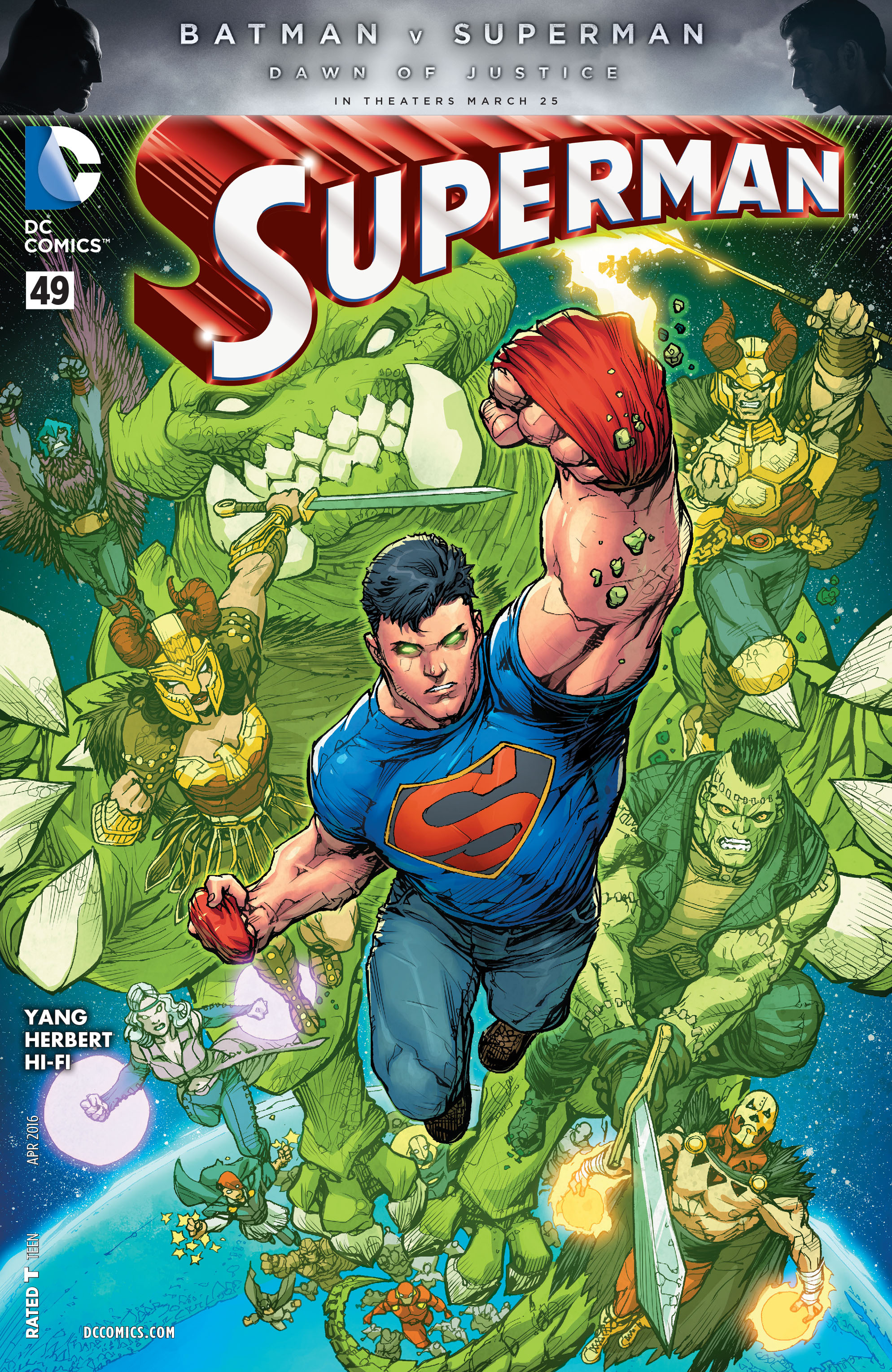 Read online Superman (2011) comic -  Issue #49 - 1