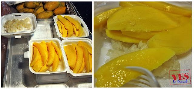Thai Mango on Sticky Rice
