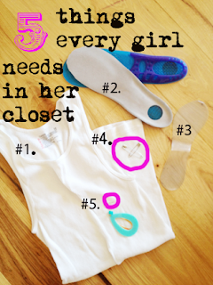 kandeej.com: 5 things every girl needs in her closet....