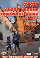 "XXXIII CROSS URBANO ""CIUDAD DE CORIA"""