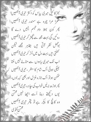 Mohsin Naqvi Urdu Poem Poetry Picture