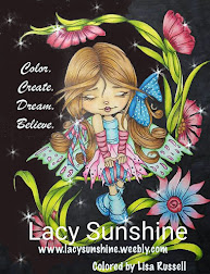 Color. Create. Dream ad Believe Lacy Sunshine Badge
