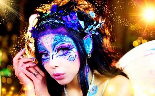 Ideas para maquillarse en Carnaval