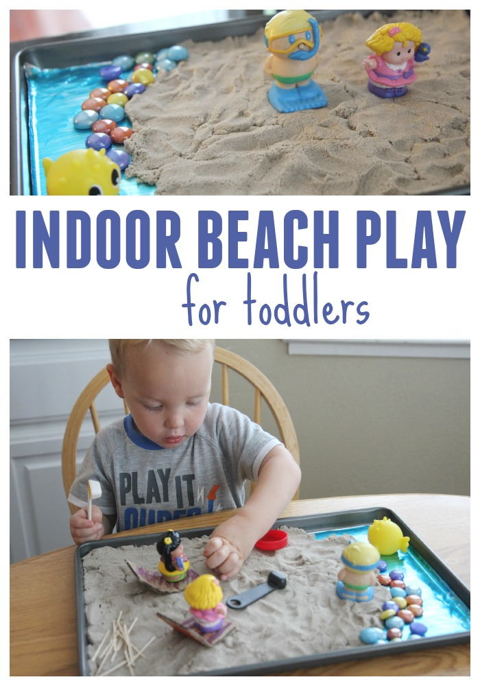 Toddler approved indoor beach play for toddlers for Indoor play activities