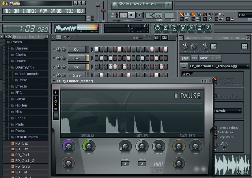 Download FL studio fruity loops 10.0.9 c