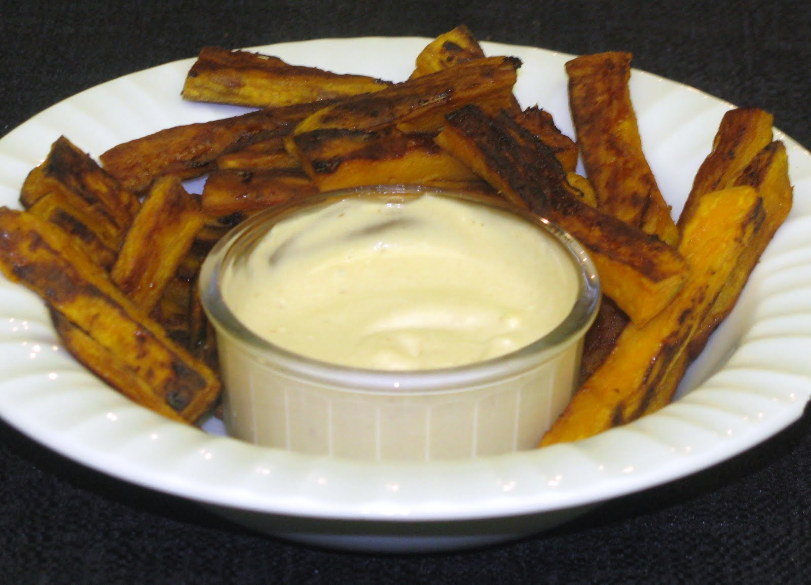 ... and Shenanigans: Sweet Potato Fries with Chipotle Dipping Sauce