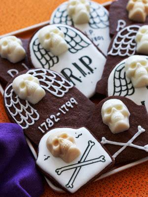 Dia De Los Muertos Day Of The Dead party cookies