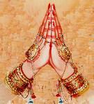 Main d'Anjali, Namasté, artpreneure