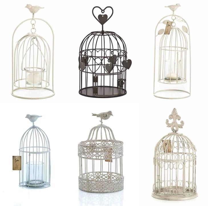Dekoracyjne klatki metalowe, dekoracyjne klatki dla ptaków, lampiony klatki, lampiony ogrodowe
