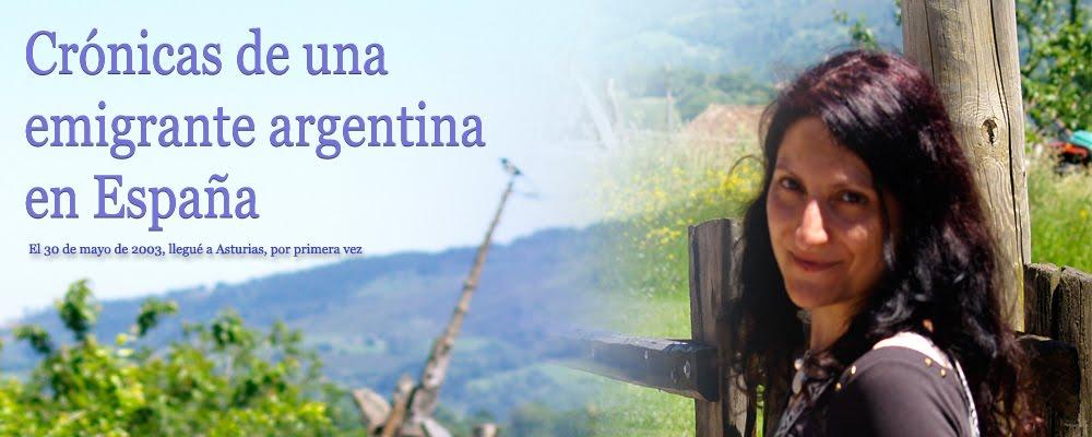 Crónicas de una Emigrante Argentina en España