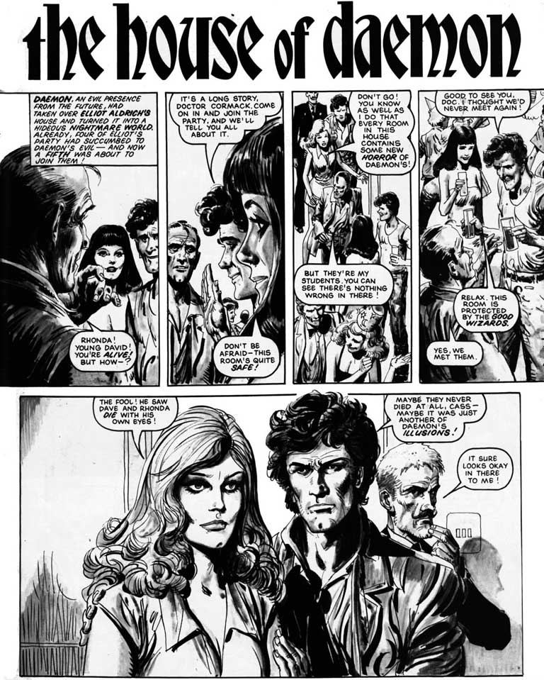 Art Of Comics And Manga: British Comic Art: April 2012