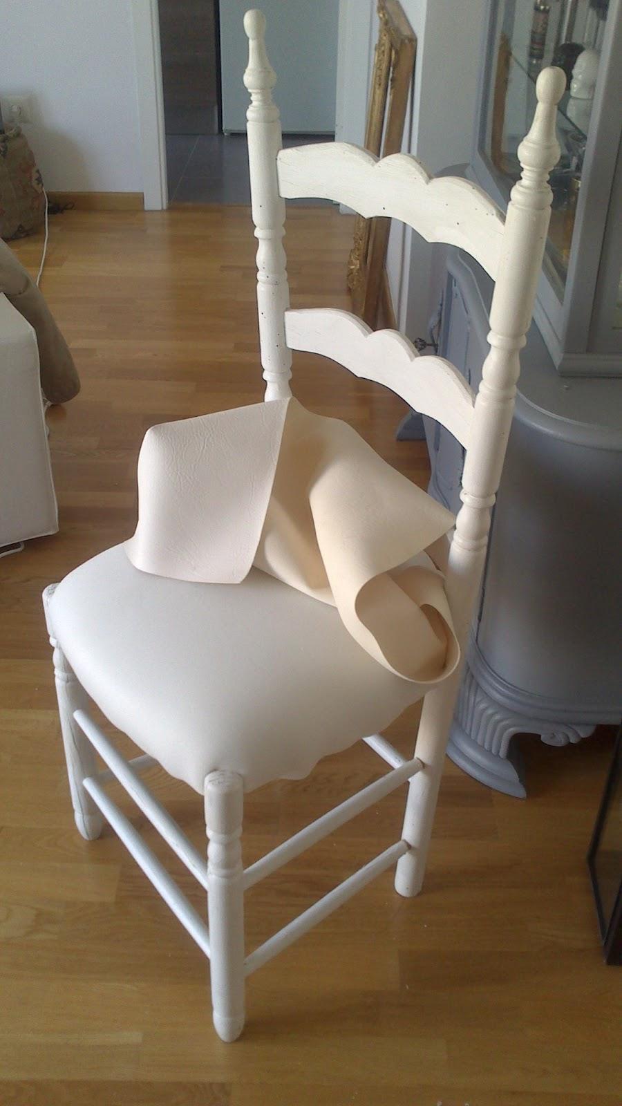Restauraci n el palisandro tapizado de una silla sevillana - Materiales para tapizar una silla ...