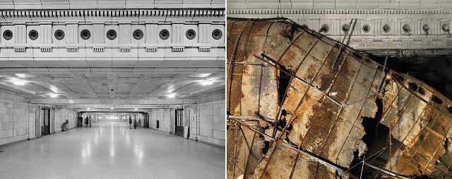 Estación de tren abandonada