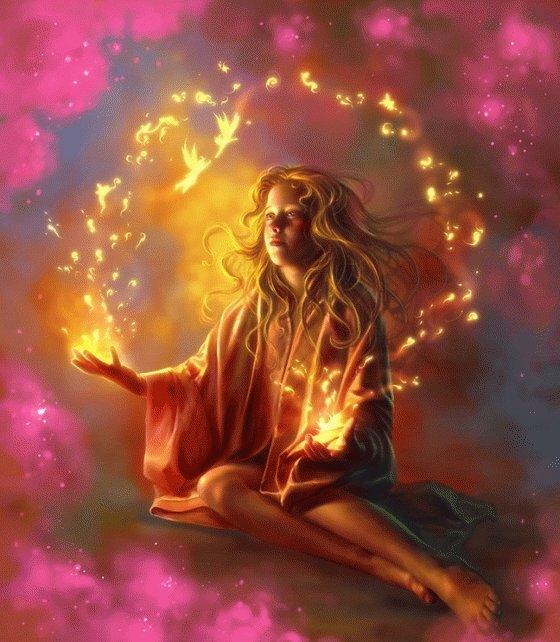 Abençoando com energias cósmicas