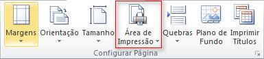 Excel 2010 - Definir área de Impressão