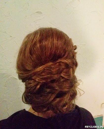 fryzura ślubna 21
