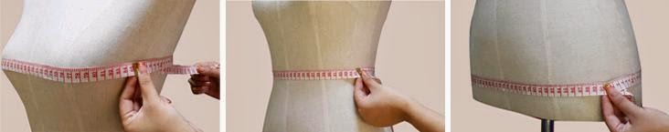 HOW TO MEASURE BUST, WAIST & HIPS?