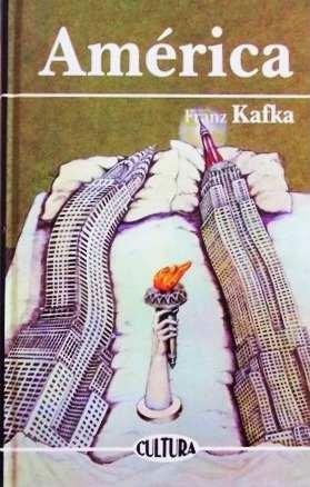 Portada del libro América de Kafka en epub y pdf graits