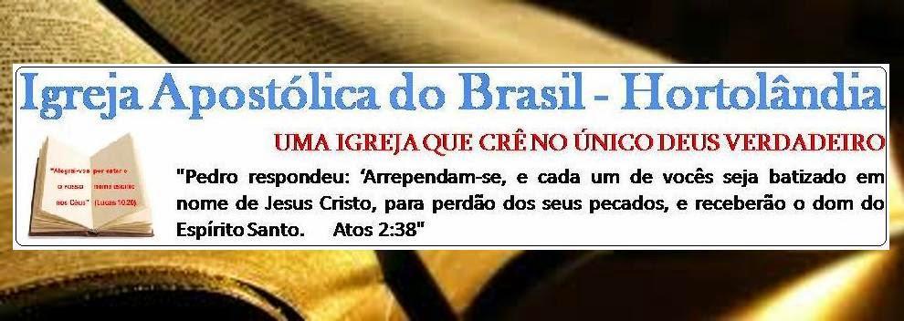 Igreja  Apostólica do Brasil - Hortolândia