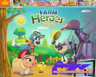 game facebook terbarik terbaru Farm Heroes Saga