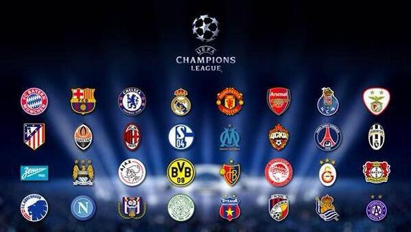 Football GalaxyUefa Champions League Teams 201314
