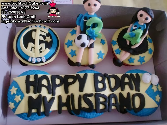 Cupcake Bola Intermilan