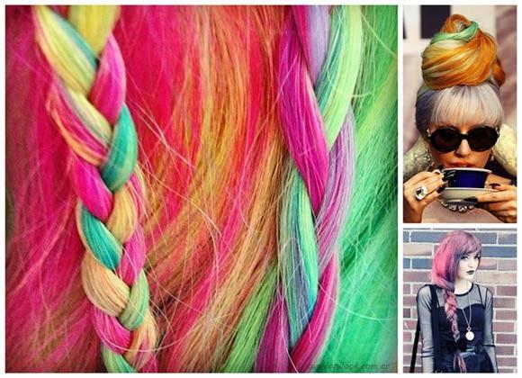 Peinados 2014 color de pelo fantasia
