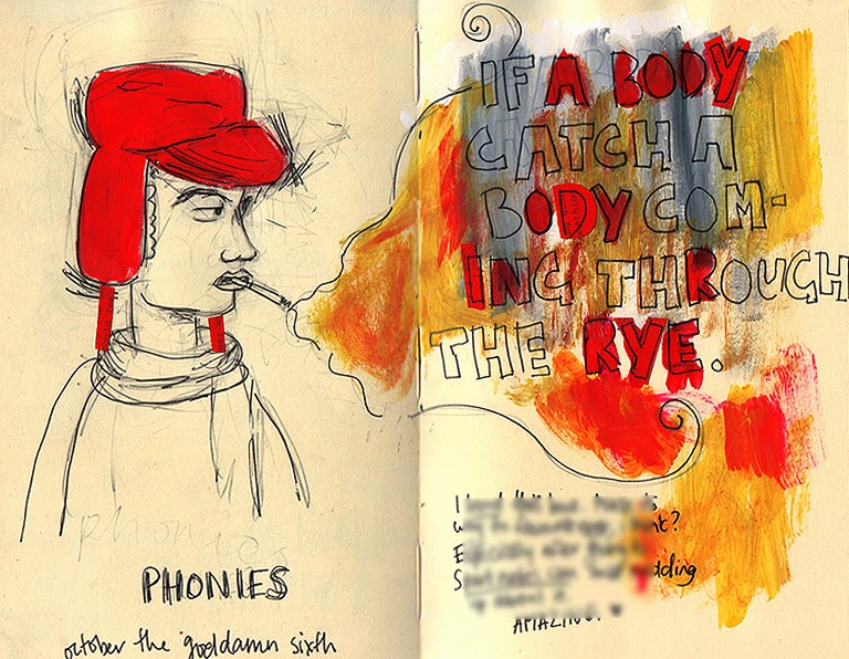 a look at the protagonist holden caulfield in the catcher in the rye With the protagonist, holden caulfield look for patterns in the way holden interacts with other in the catcher in the rye, holden is surrounded by wealthy.
